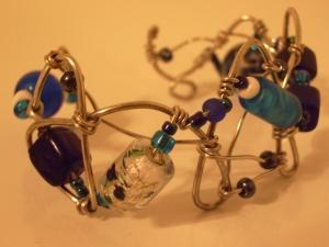 Funky Blues bracelet
